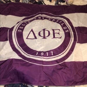 Delta Phi Epsilon flag! Practically brand new